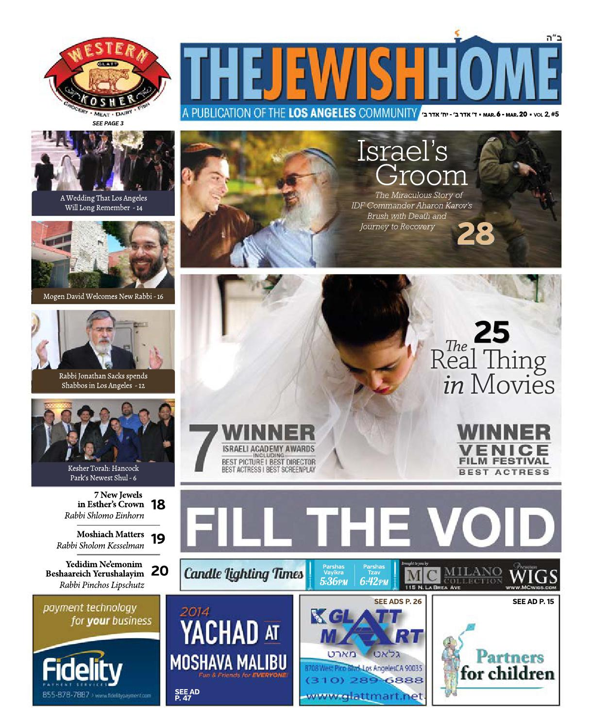 Jewish Home La 3 6 14 By Jewish Home La Issuu