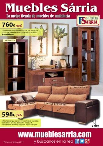 catalogo marzo 2014 muebles sarria by mueblessarria issuu