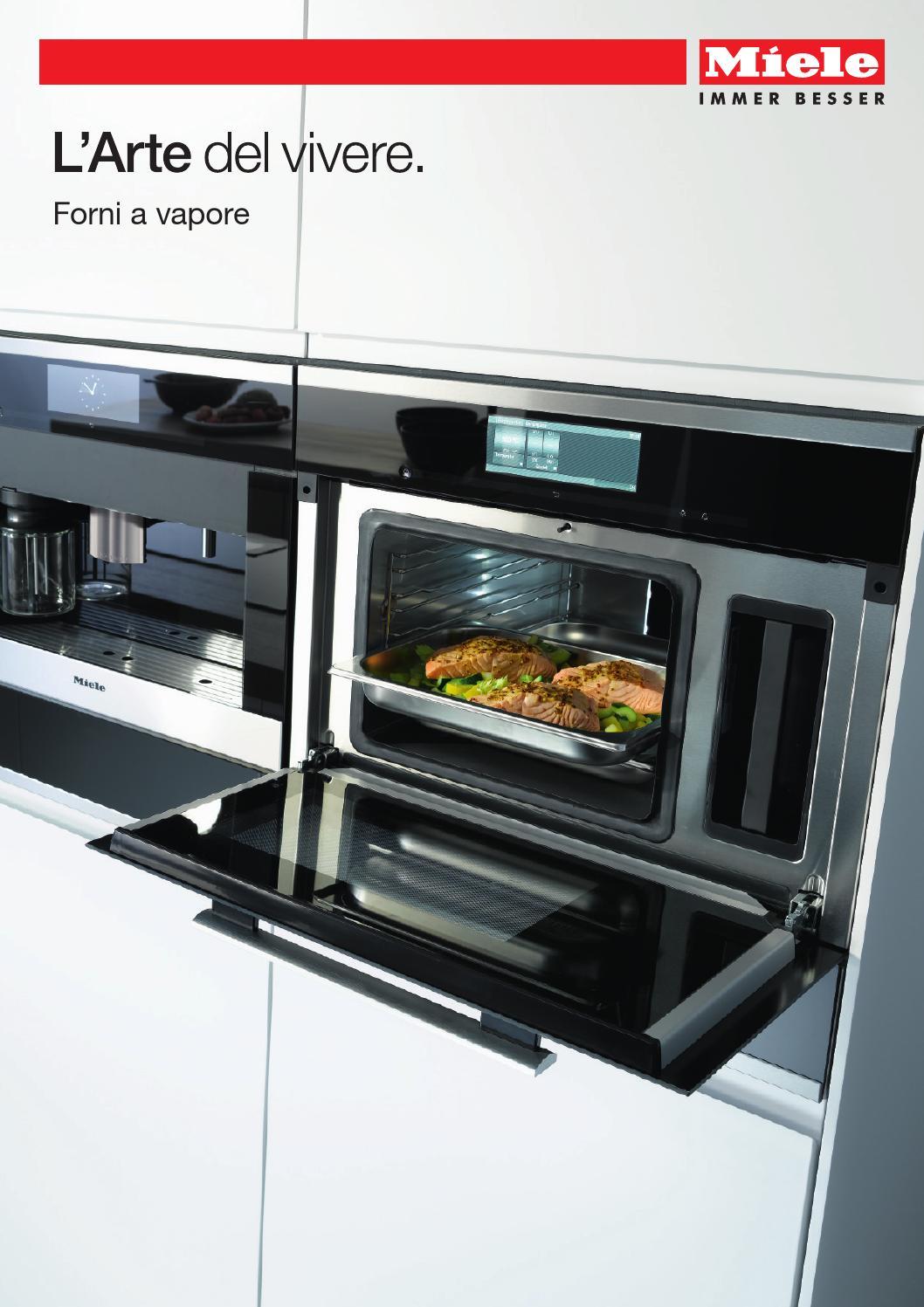 Miele catalogo forni a vapore i by miele issuu - Forno con cottura a vapore ...