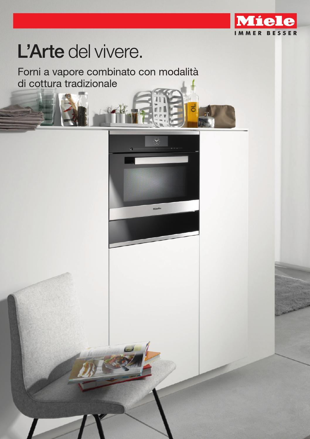 Miele catalogo forni a vapore con modalit forno tradizionale i by miele issuu - Forno tradizionale e microonde insieme ...