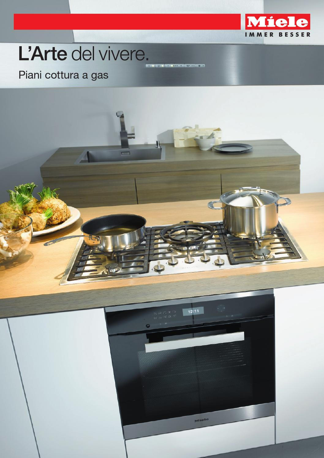 Miele - Catalogo Piani cottura a gas - I by Miele - issuu