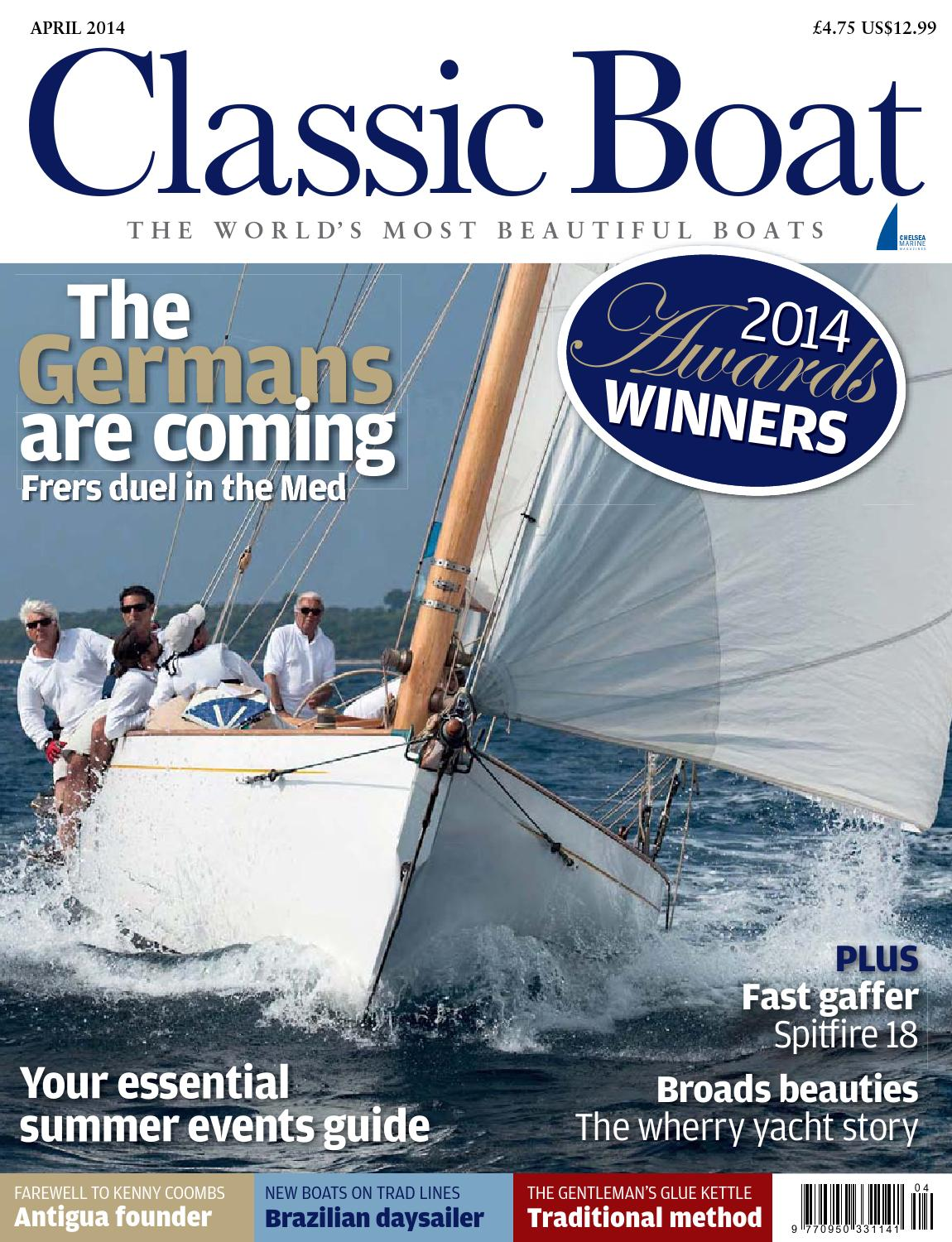 Classic Boat April 2014 By The Chelsea Magazine Company Issuu To Builders And Recreational Boats Typical Wiring Diagram