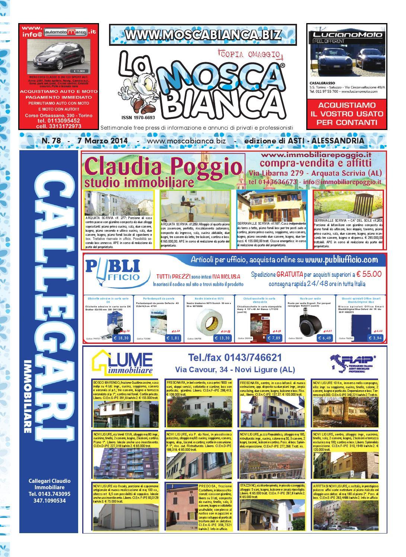 La Mosca Bianca Asti Alessandria n. 78 by Publidok S.r.l.