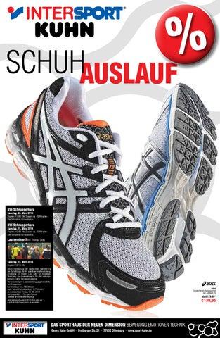 ef77ea2b6e38f4 Intersport Kuhn Prospekt Schuhauslauf 2014 by Intersport Kuhn ...
