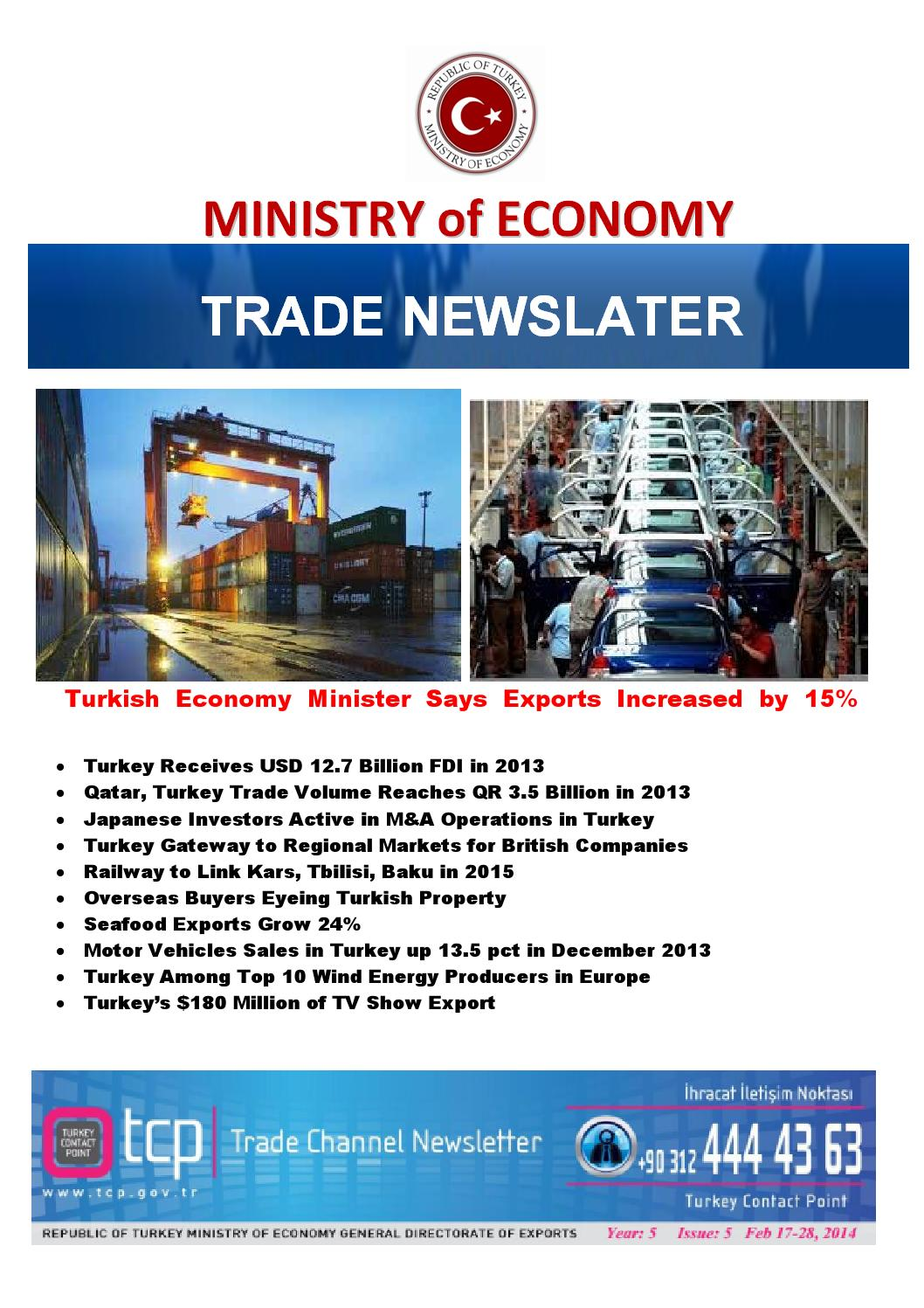 Turkey Trade Channel News Year:5 Issue:5