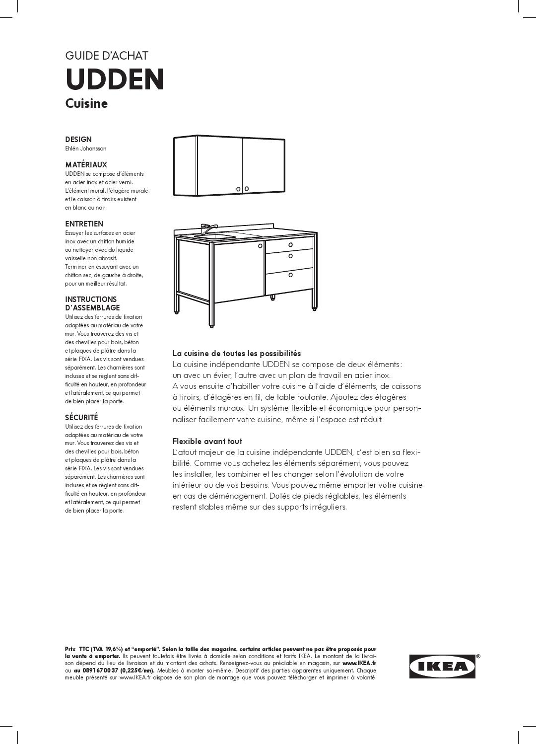 Udden ikea fr by ikea catalog issuu for Elements cuisine independants