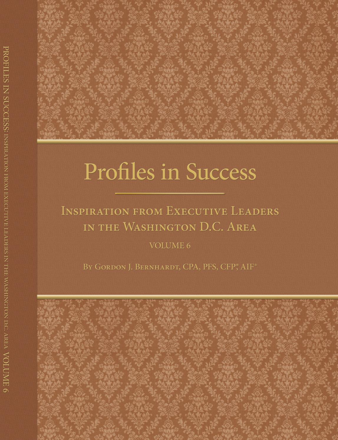 Profiles In Successvolume 6 Ebook By Gordon J Bernhardt Issuu Circuitwriter Conductive Pen Caig Labs Circuit Writer Solder