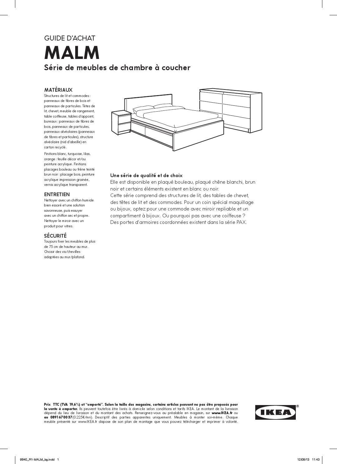 malm meuble chambre ikea fr by ikea catalog issuu. Black Bedroom Furniture Sets. Home Design Ideas