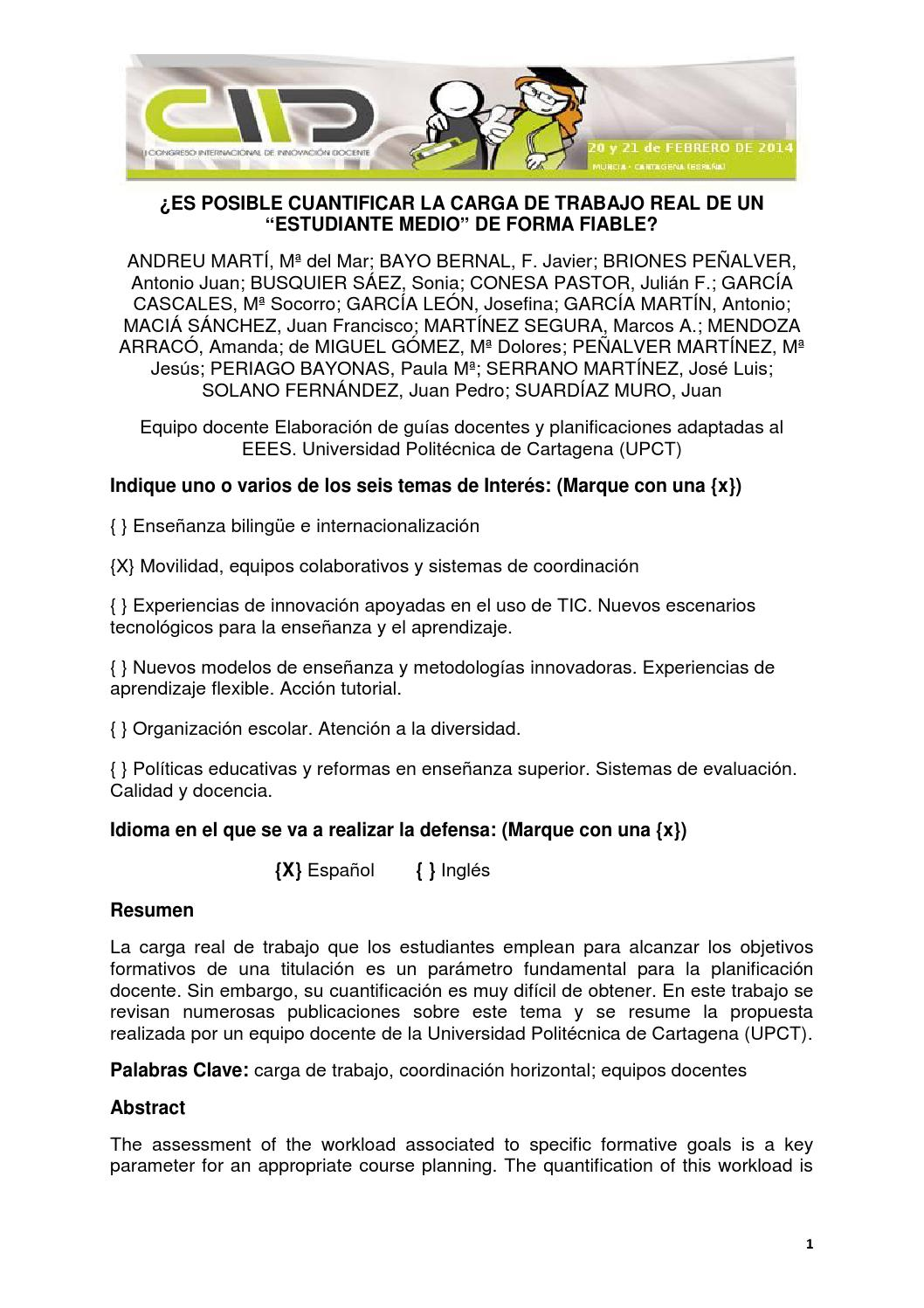 Libro de actas 2014 2 by UnidadInnovación UM - issuu