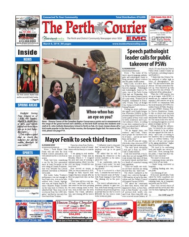 c3d2aaa6d8e Perth030614 by Metroland East - The Perth Courier - issuu
