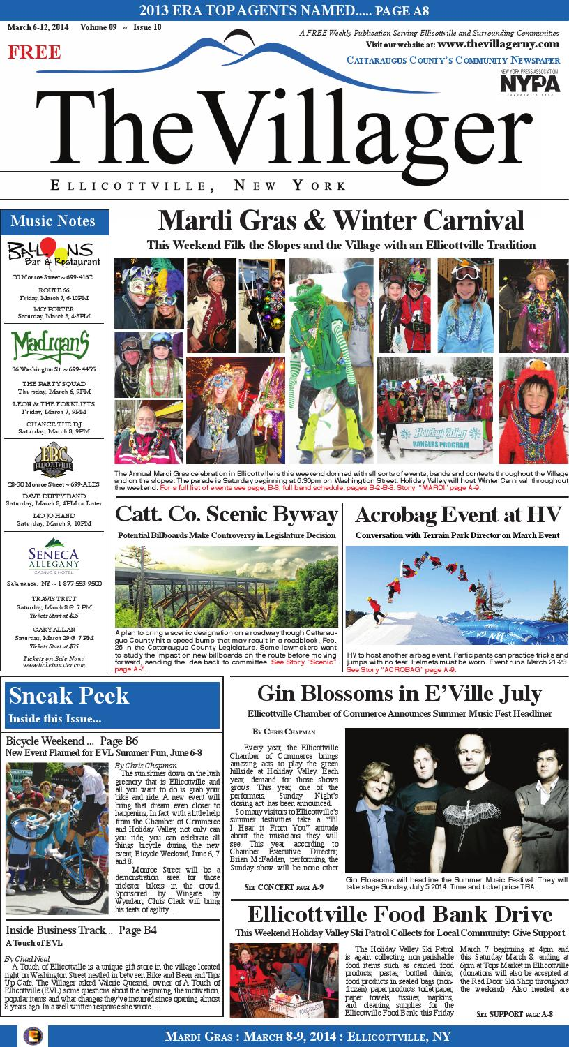 The villager ellicottville mar 6 13,2014 volume 9 issue 10 insert by ...