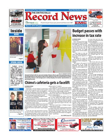0f78a3b7848 Smithsfalls030614 by Metroland East - Smiths Falls Record News - issuu