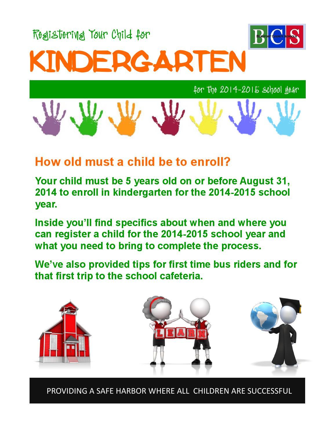 preschool registration process kindergarten registration newsletter for 2014 2015 012214 701