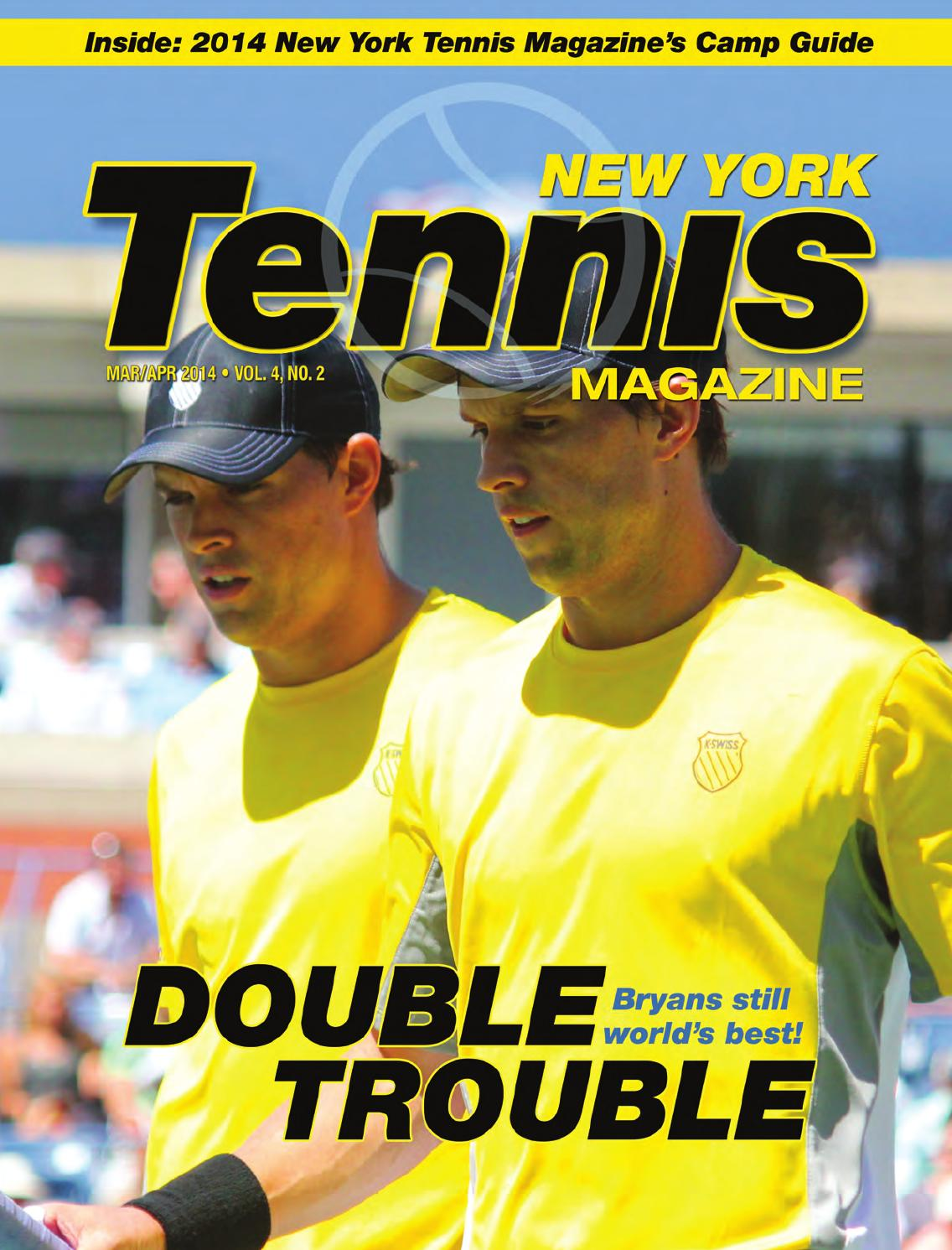 new york tennis magazine march april 2014 by united sports publications ltd issuu. Black Bedroom Furniture Sets. Home Design Ideas