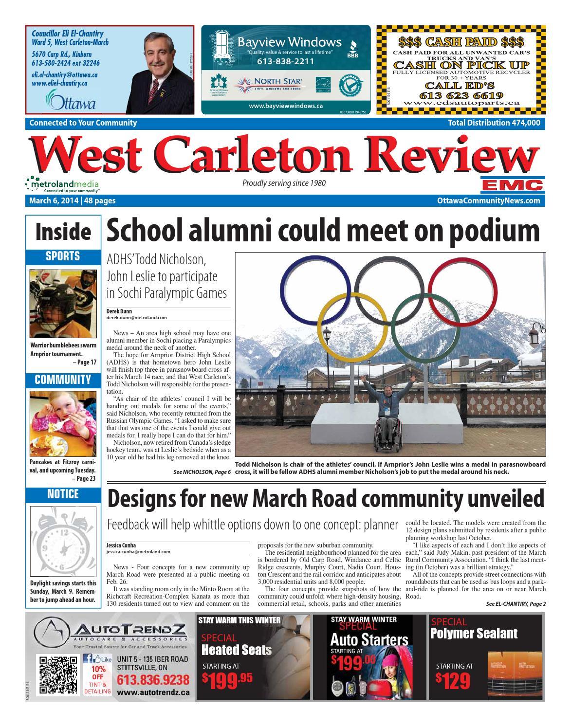 8274f36b28f0 Westcarleton030614 by Metroland East - West Carleton Review - issuu