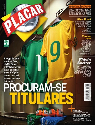 Revista Placar - Editora Abril by Revista Placar - issuu 8a74a5cb0a050