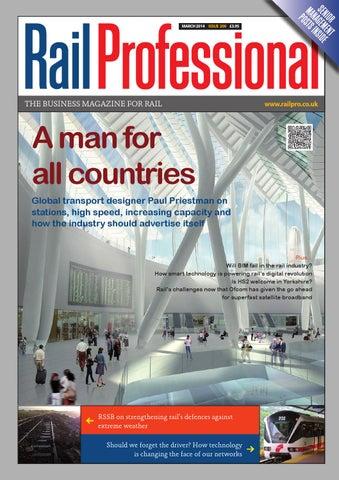 6a8252a74012f5 Rail Professional March 2014 by Rail Professional Magazine - issuu