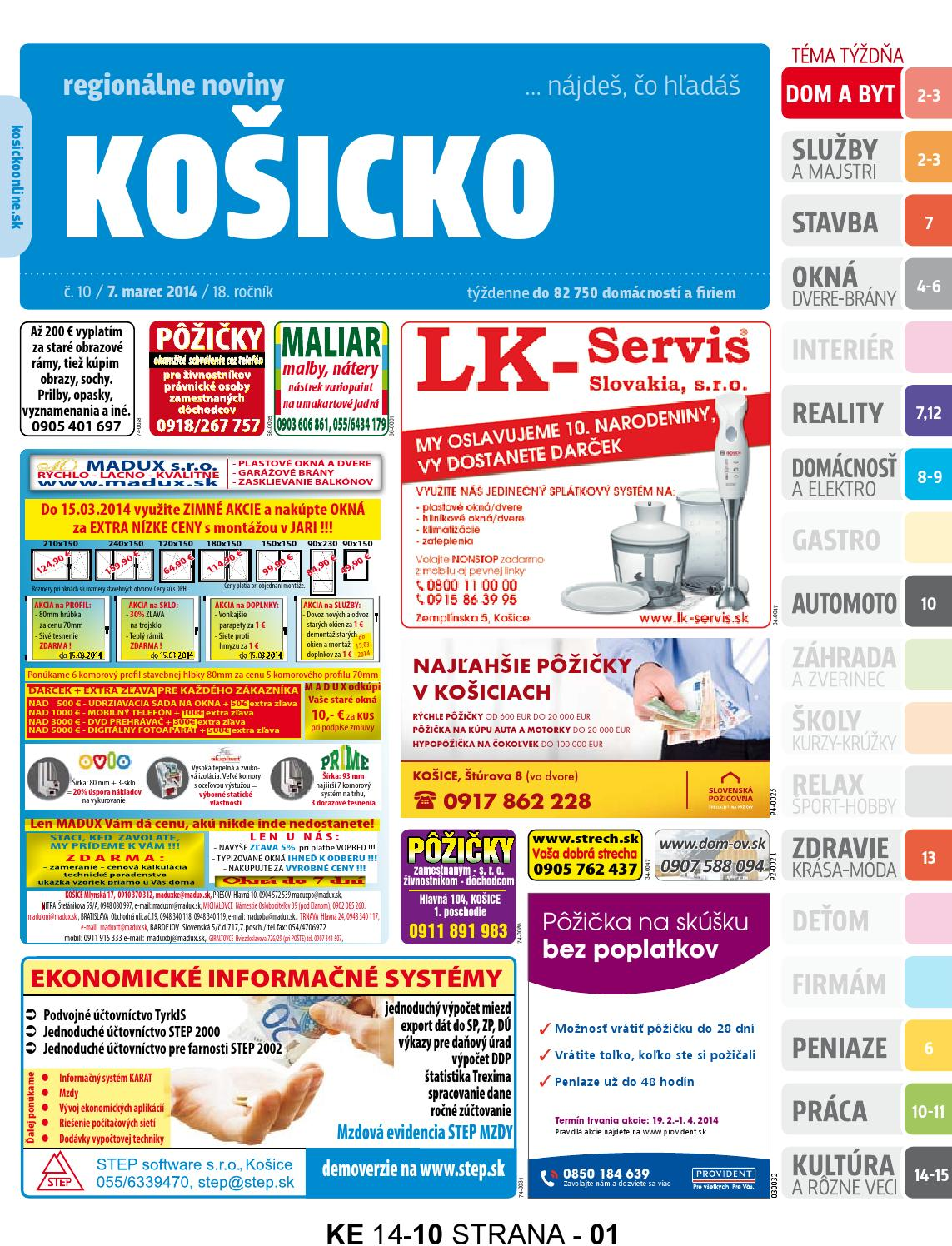 314b91ff1234 Ke1410 by REGIONPRESS - Kosicko - issuu