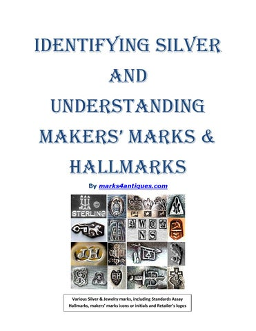 how to read silver hallmarks