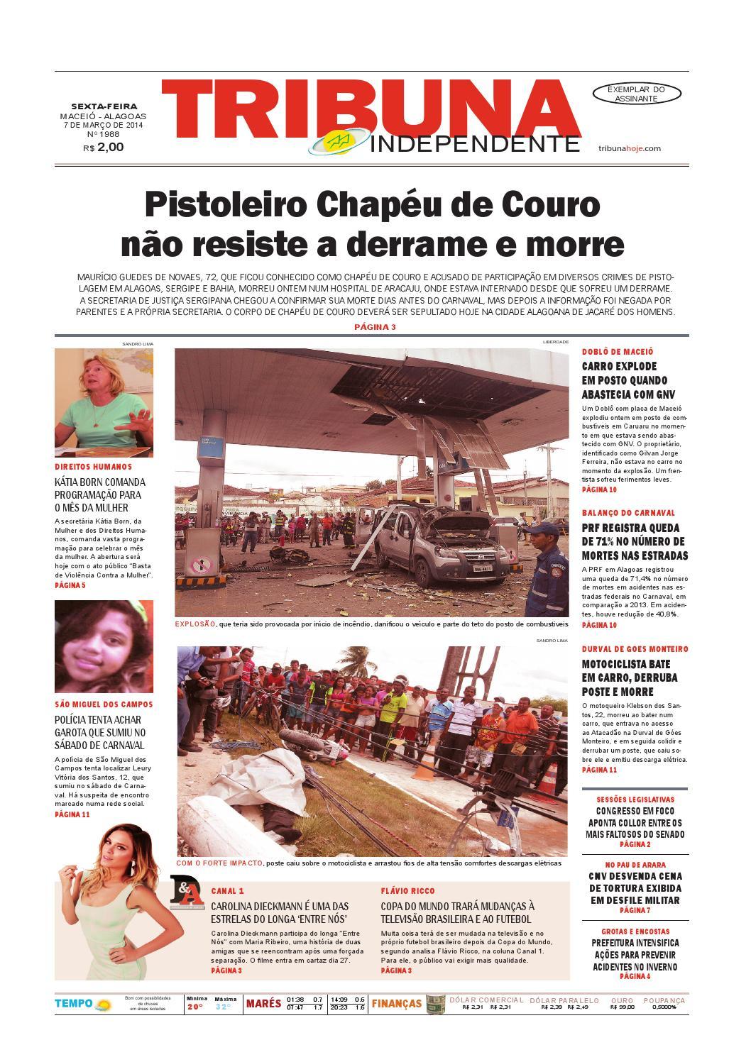 0c9bf756d Edição número 1988 - 7 de março de 2014 by Tribuna Hoje - issuu