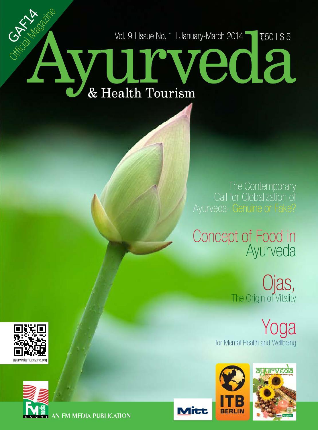 Ayurveda magazine gaf 2014 issue by ayurveda health tourism issuu izmirmasajfo