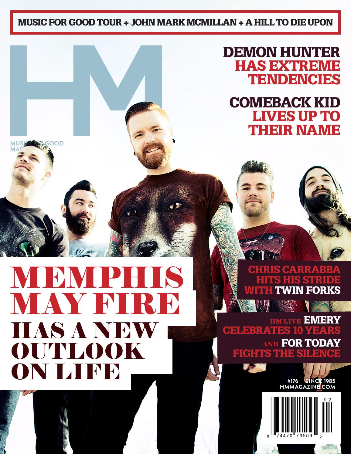 Memphis May Fire - March 2014 - HM Magazine by HM Magazine