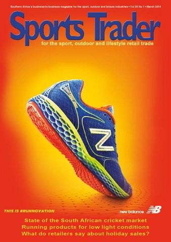 c8d7fc8a5 Sports Trader March 2014 by Nelle du Toit - issuu