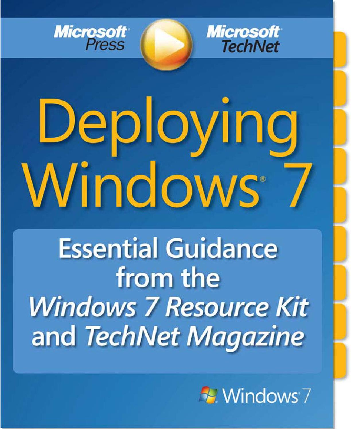 Deploying windows 7 essential guidance by Hofman Ortiz - issuu