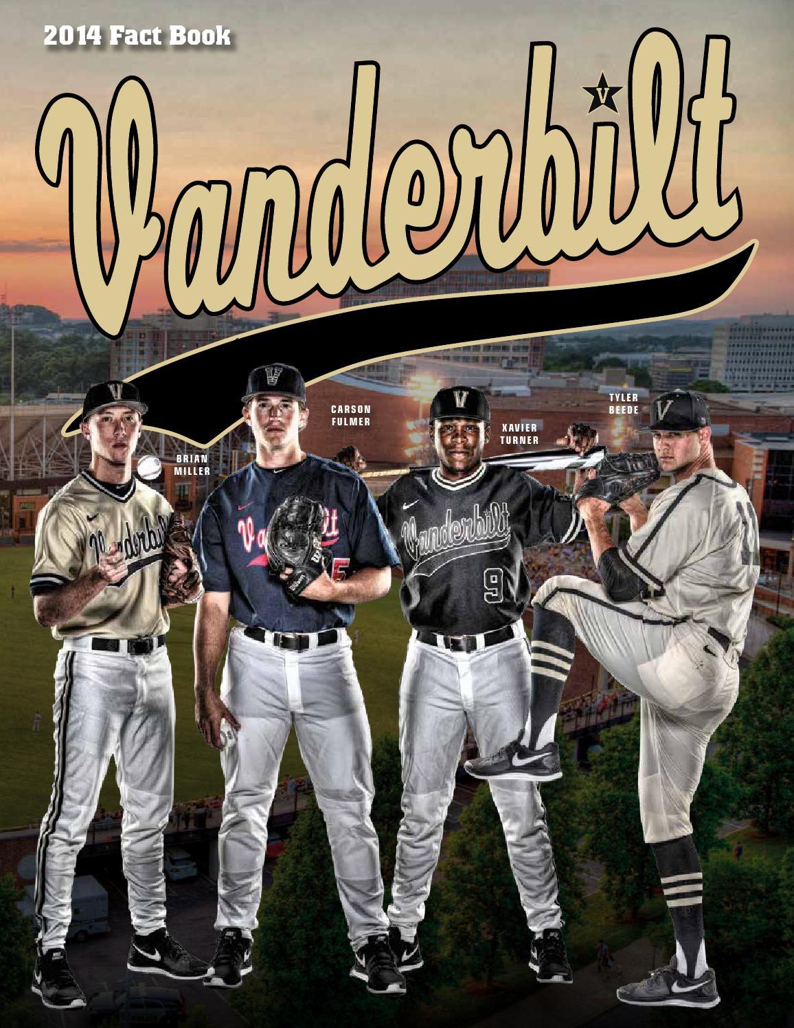 2014 vanderbilt baseball fact book by vanderbilt