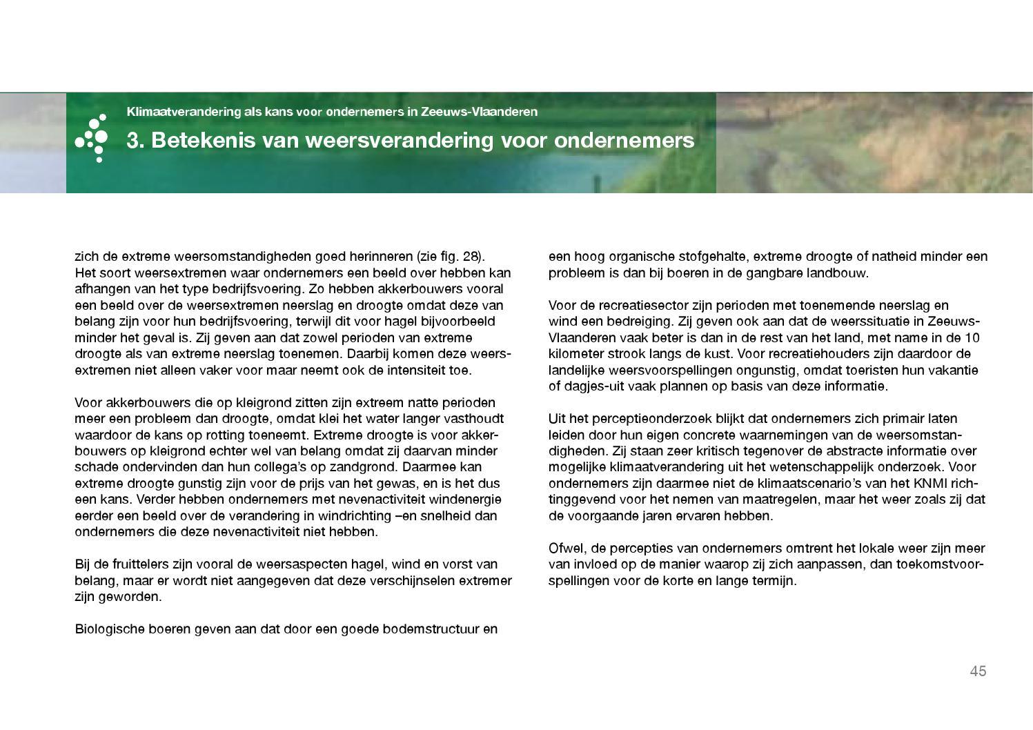 Klimaatverandering Als Kans Voor Ondernemers In Zeeuws Vlaanderen By