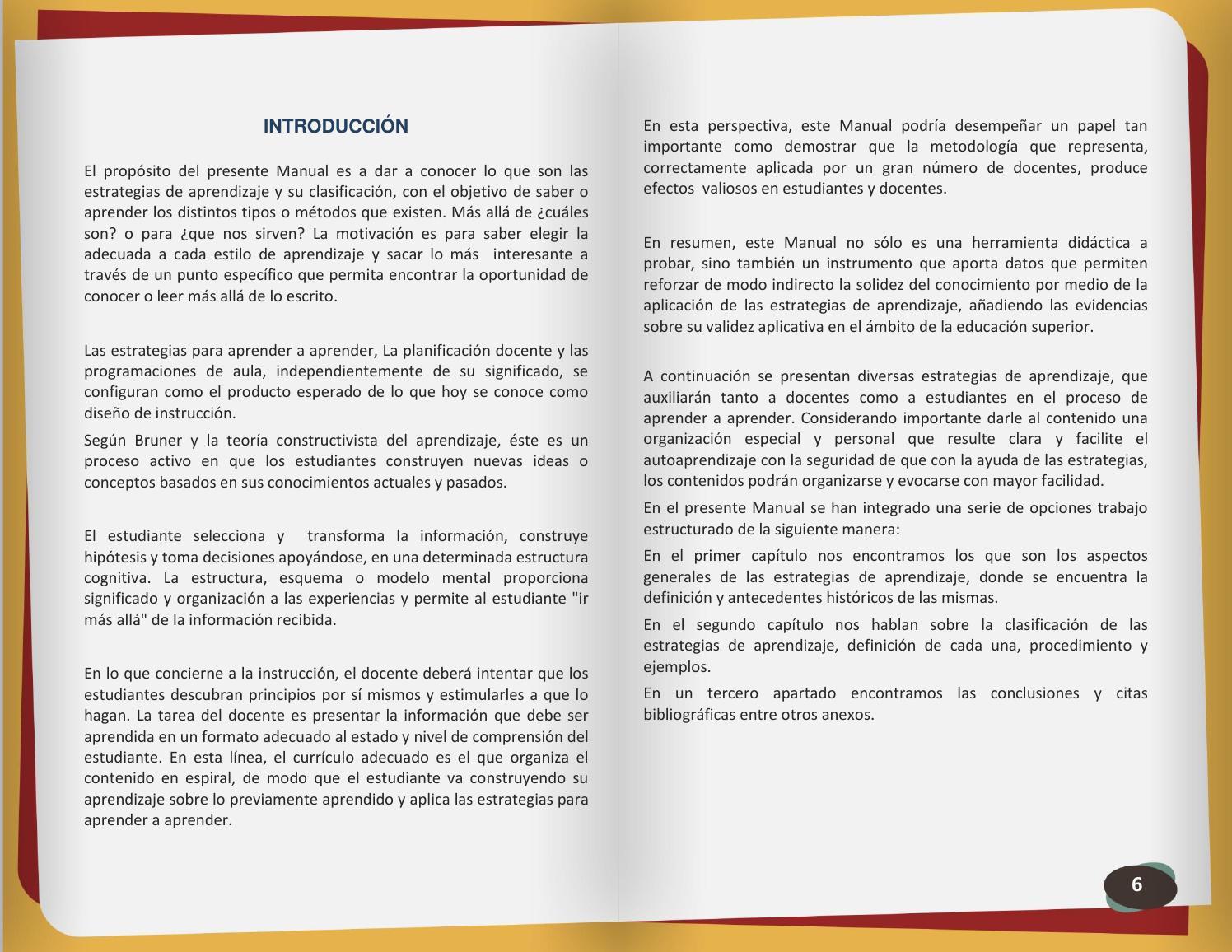 Manual de estrategias de aprendizaje by Samuel Gomez - issuu