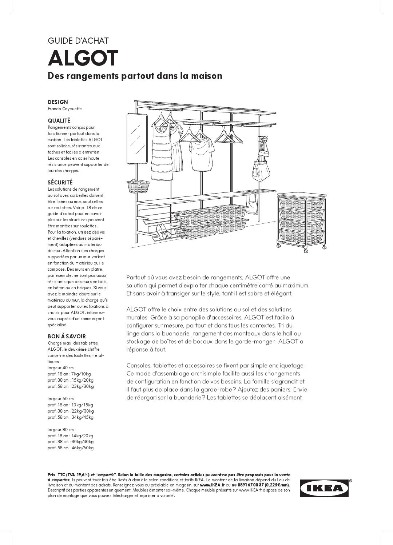 Algot Ike Rangements Partout Dans La Maison By Ikea Catalog Issuu