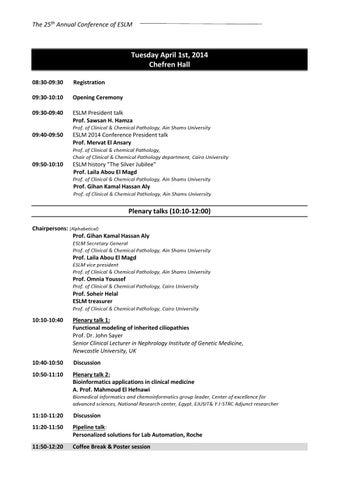 Program eslm 2014 by Mediconex - issuu