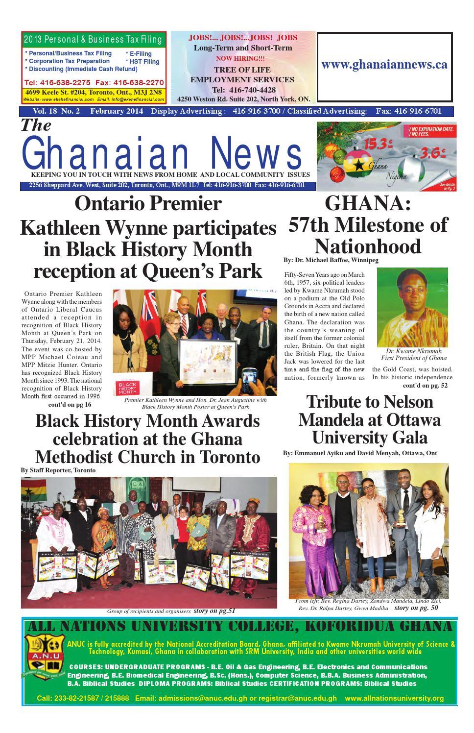 Superb Ghanaian News February 2014 Edition By Emmanuel Ayiku   Issuu