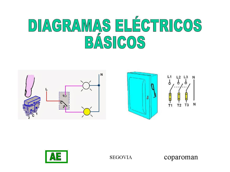 Diagramas El U00e9ctricos B U00e1sicos  1  By Francisco Segovia