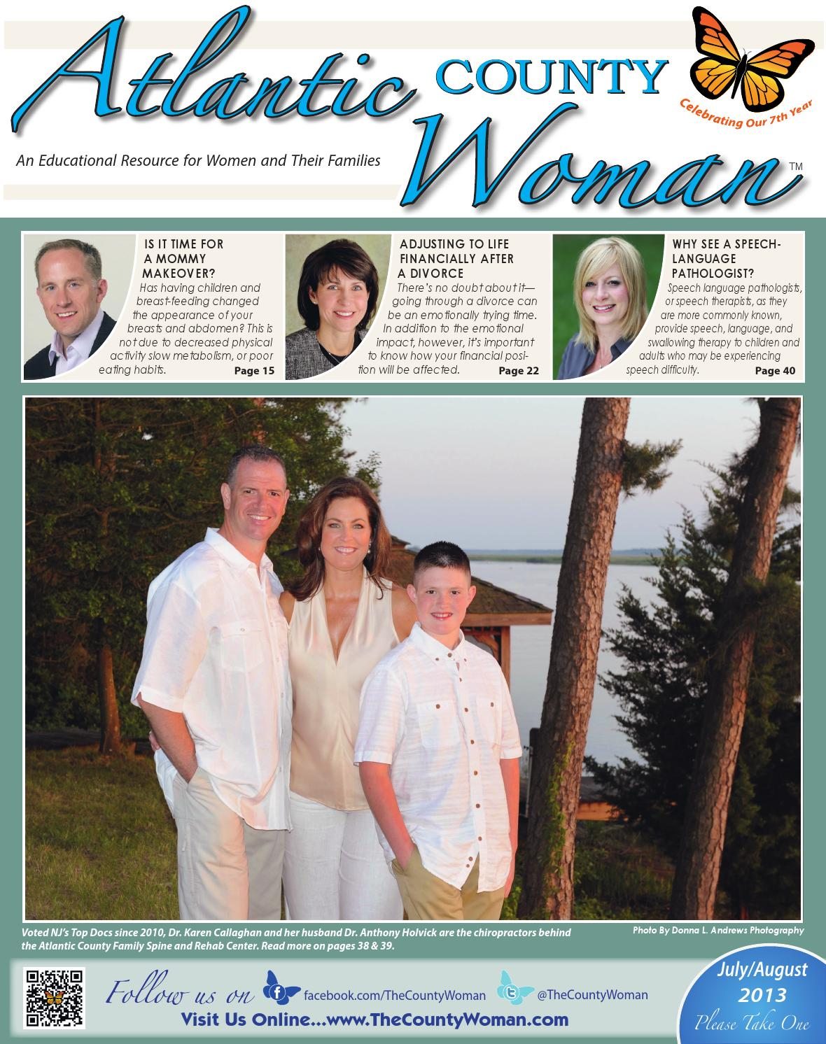 Atlantic County Woman - 2013 July/August by The County Woman