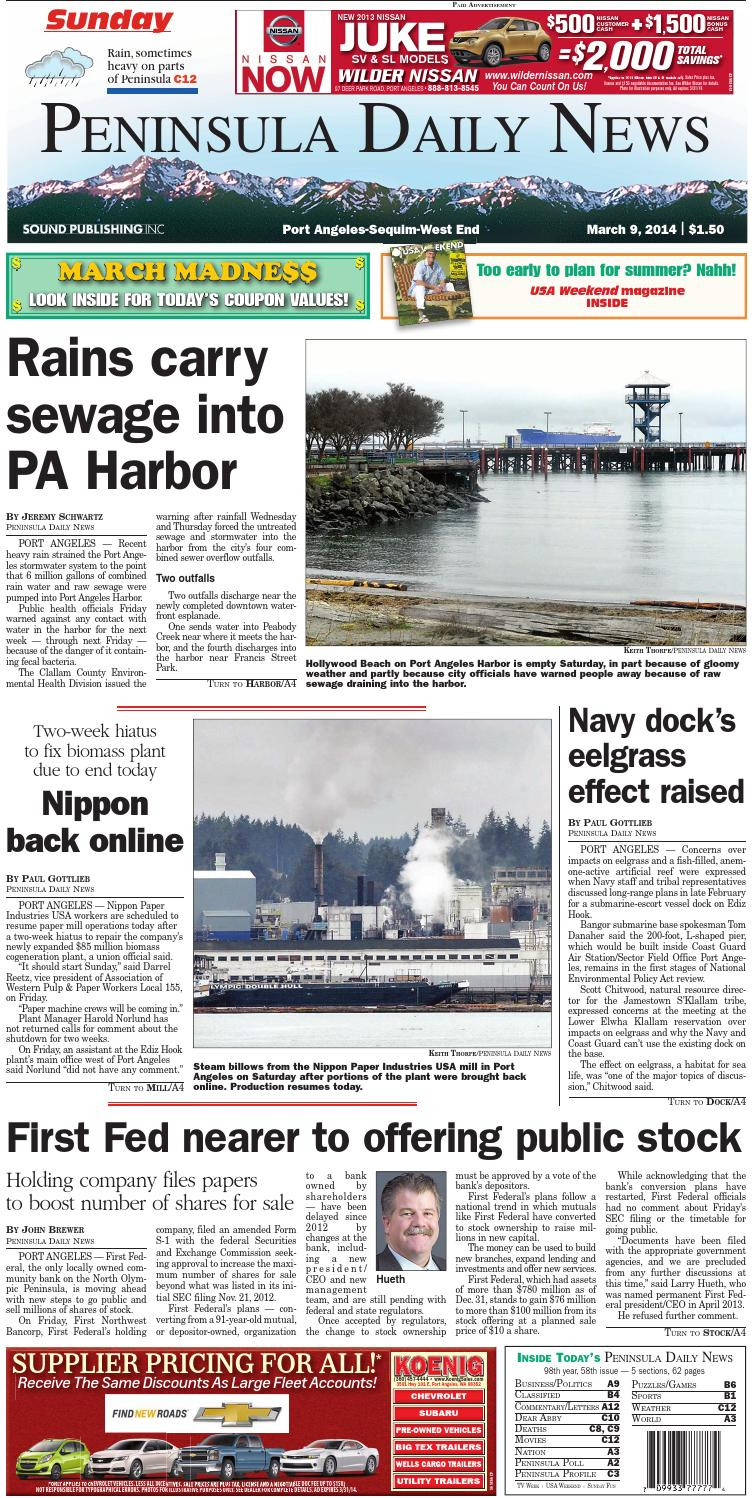 Pdnn140309c By Peninsula Daily News Sequim Gazette Issuu Simple Modem Dc Ups Circuit Requested Mr Galive