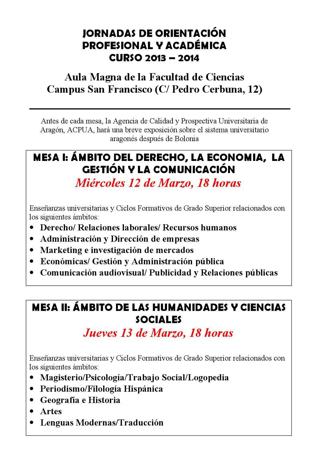 Jornadas De Orientación 2014 By Dusty Garcia Issuu