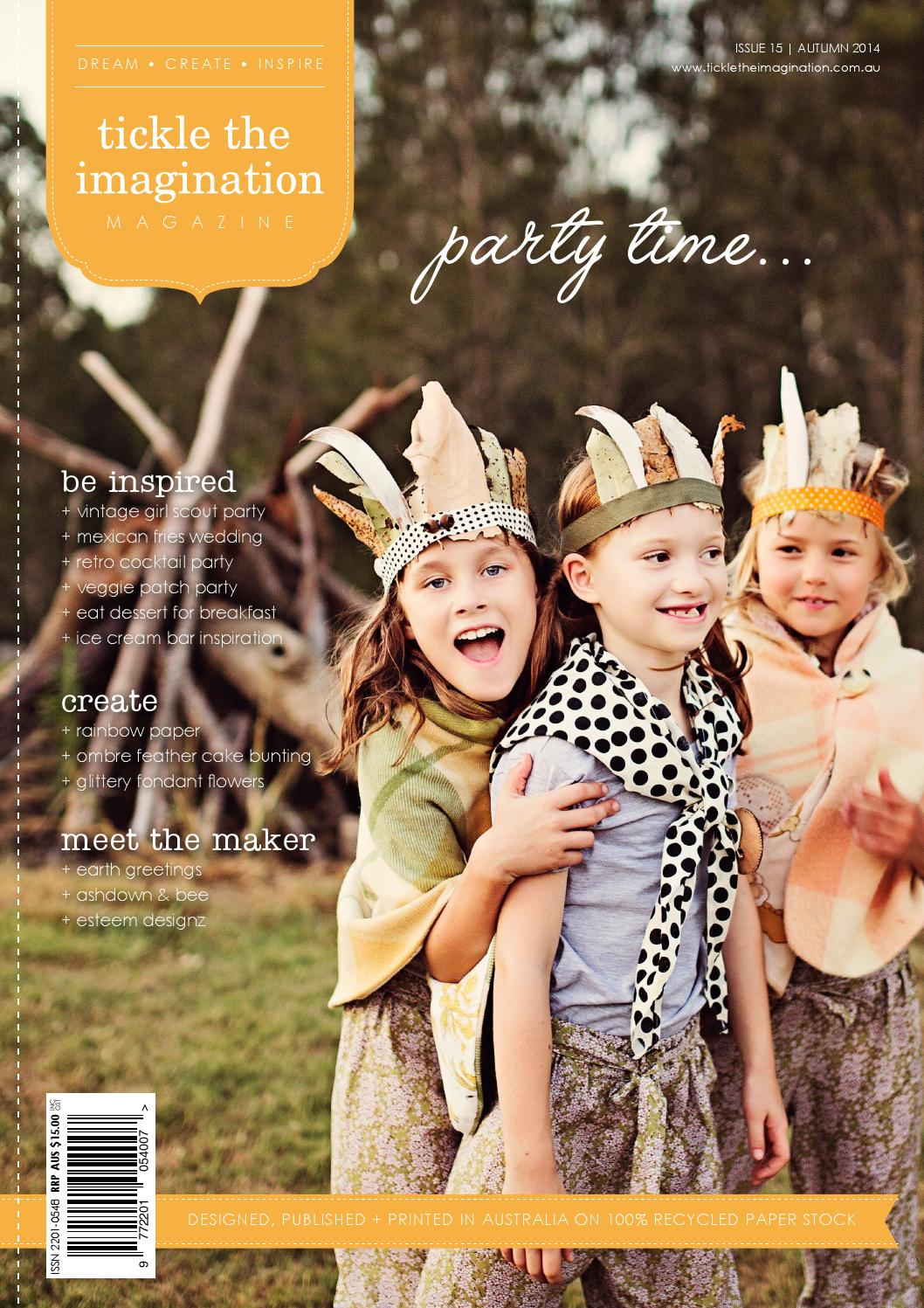 Tickle The Imagination Issue 15 Party Time By Petite Cupcakes Aumy Outer Magazine Issuu