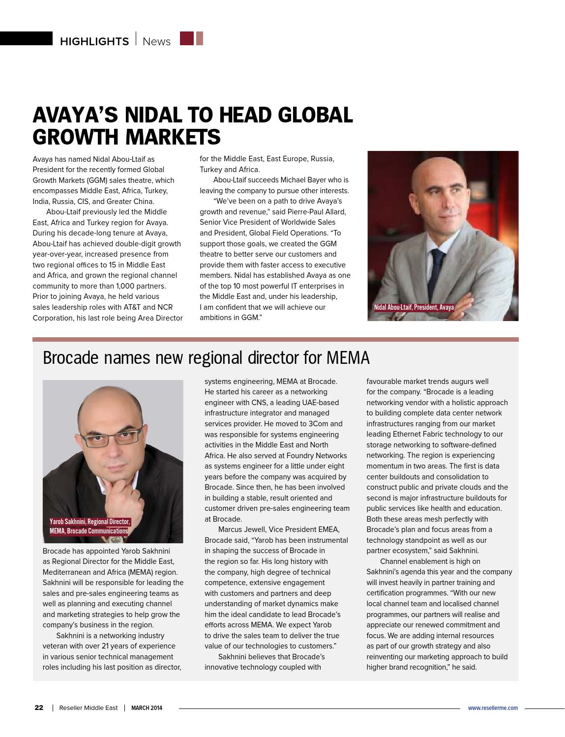Reseller Middle East March 2014 by Reseller Middle East - issuu