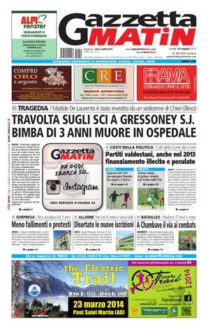 Gazzetta Matin Del 10 Marzo 2014 By Luca Mercanti Issuu