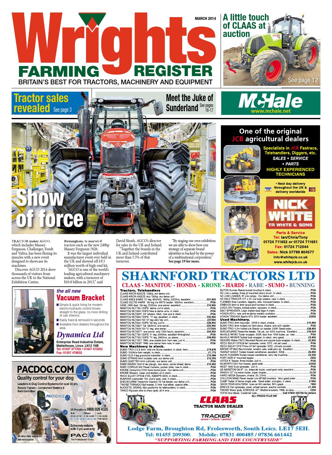 Wrights Farming Register - March 2014 - Full Edition by