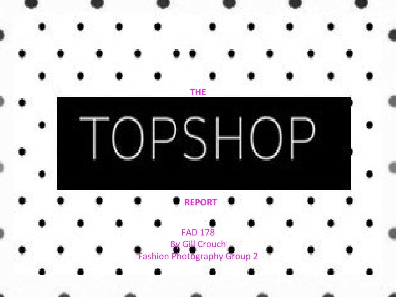 topshop target market age