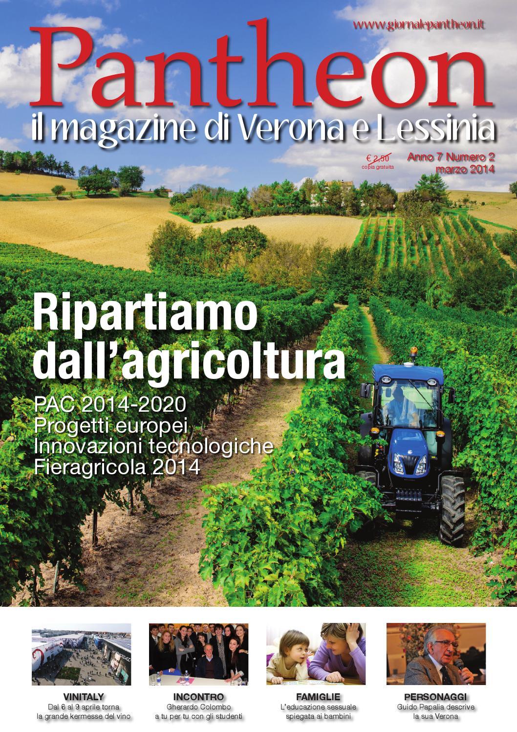 Pantheon 48 - Ripartiamo dall agricoltura by Pantheon Verona Network - issuu 650ff051344