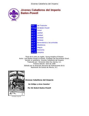 Jóvenes Caballeros del Imperio by Boy Scout Internacional - issuu