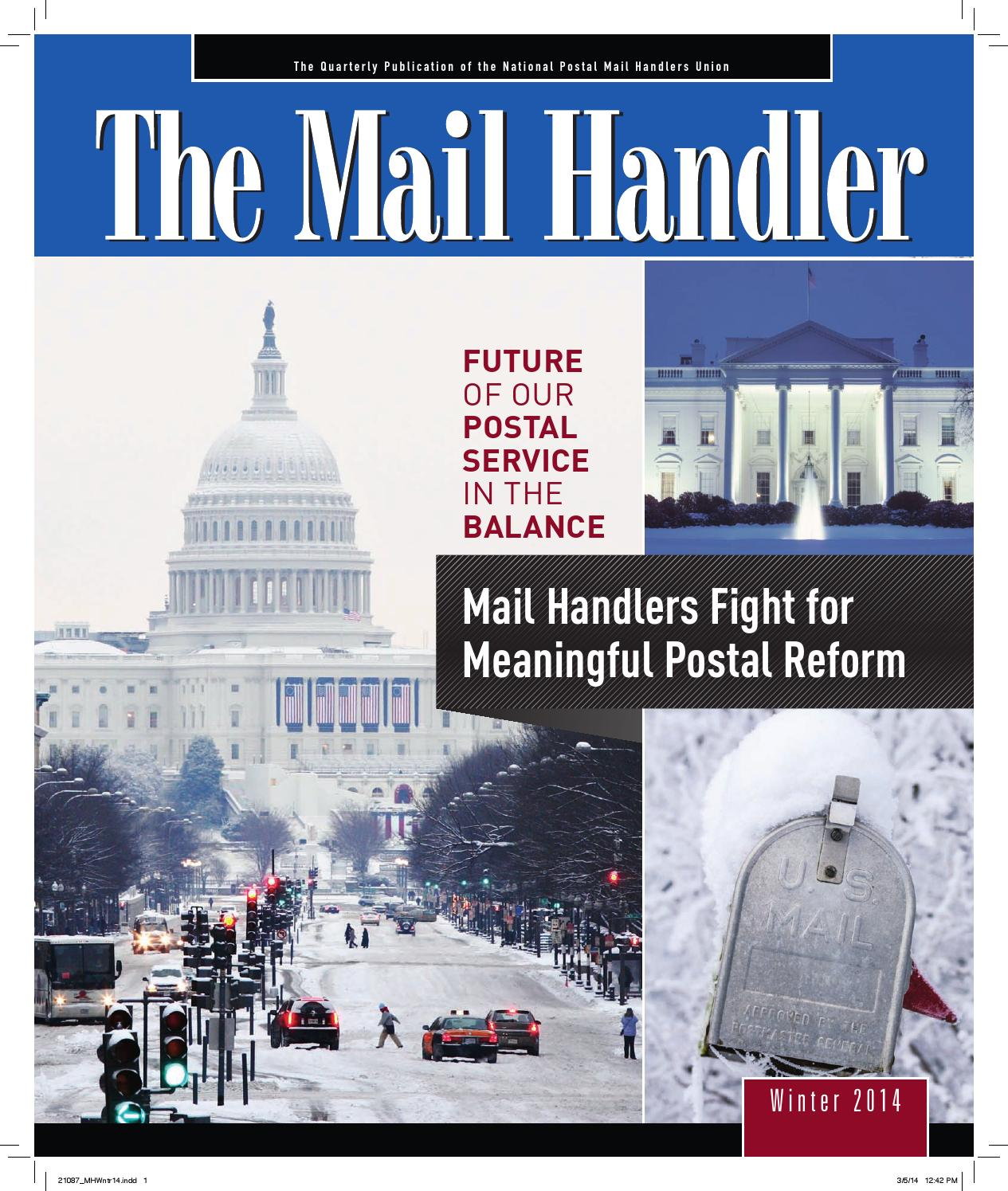 the mail handlernational postal mail handlers union - issuu