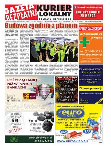 Gazeta bezplatna kurier lokalny kepno 160 by michal zaczyk issuu page 1 ccuart Images