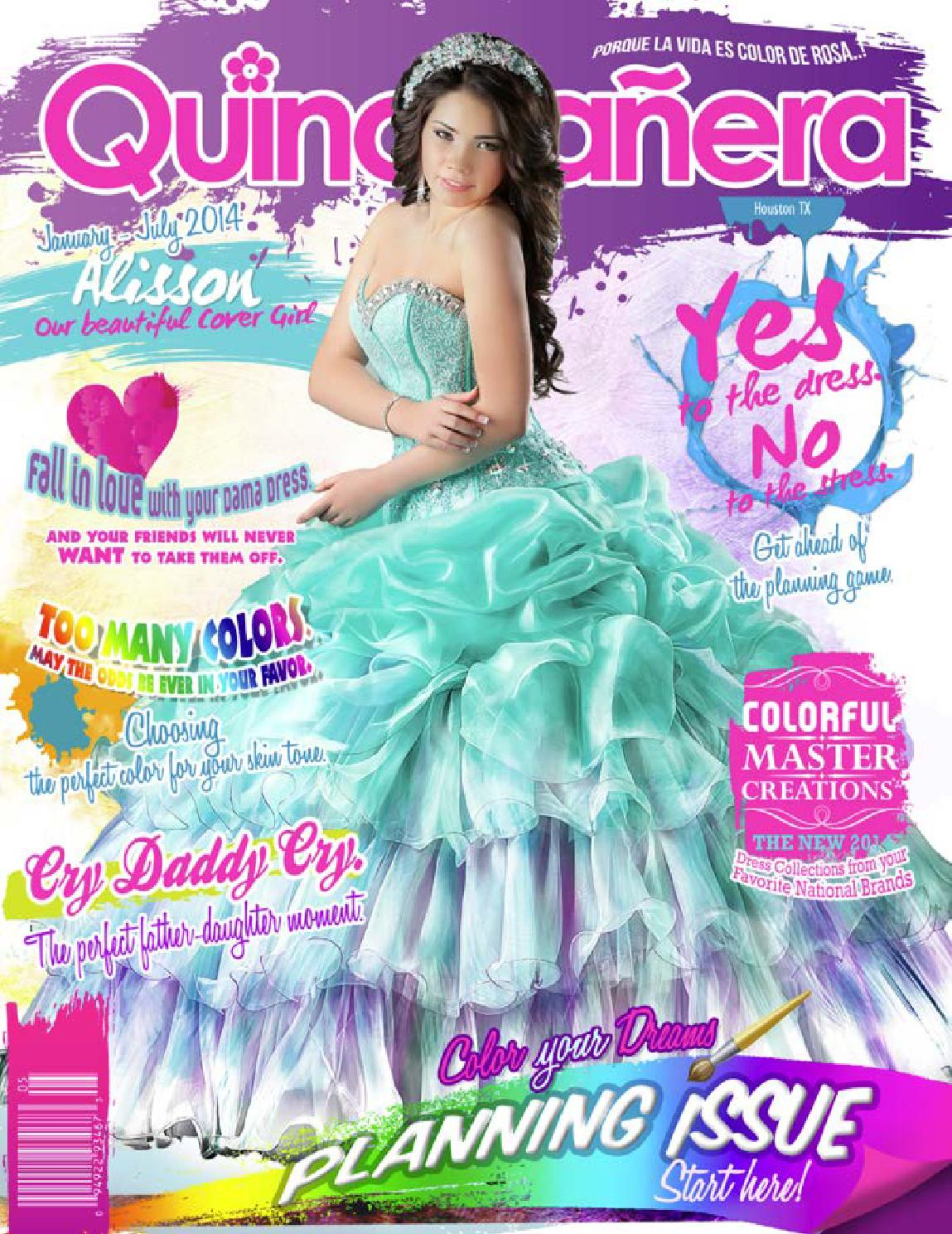 9dfeb957ca7 Texas quinceaneras magazine houston 2014 by Texas Quinceaneras ...