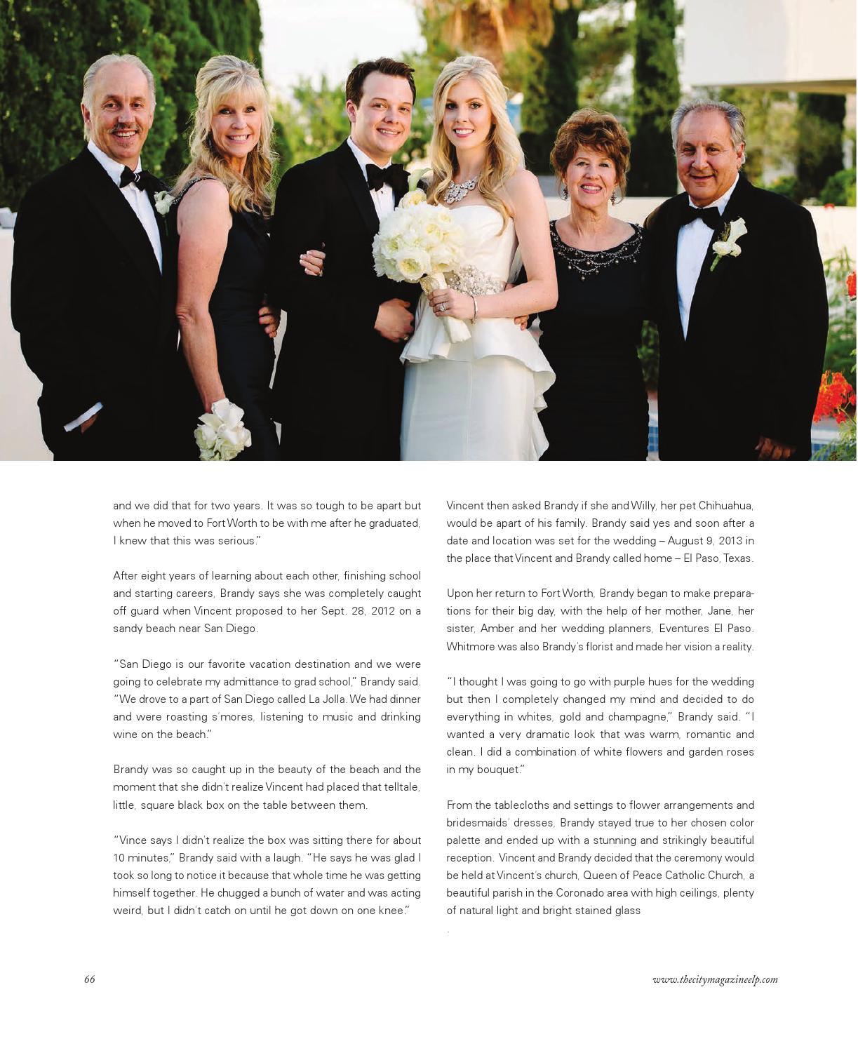 Thecity Weddings 2014 By Thecity Magazine El Pasolas Cruces Issuu