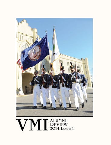 Alumni review 2014 issue 1 by vmi alumni agencies issuu page 1 fandeluxe Choice Image